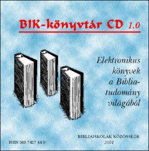 BIK-könyvtár CD 1.0