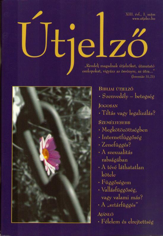 Útjelző 2007/1.  XIII/1.